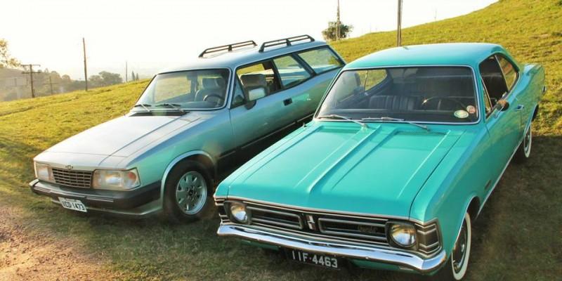 Conflito de gerações: Opala 1972 x Caravan 1989