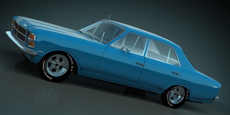 O realismo das ilustrações 3D de Dan Palatnik - Opala e Caravan