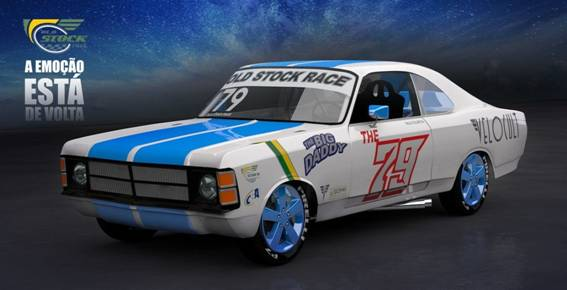 Old Stock Race confirmada na Noite do Opala 2015