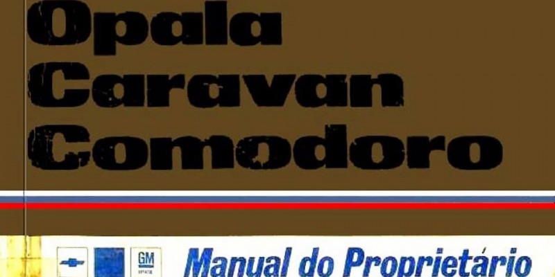 Manual do Opala 1978
