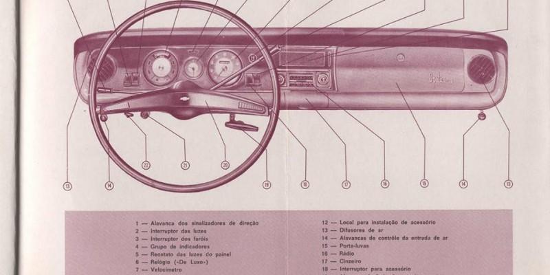 Manual Opala 1970