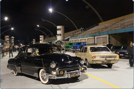 Noite dos Clássicos Chevrolet no Sambódromo do Anhembi