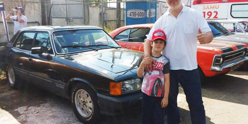 O vínculo de pai e filho representado na mesma paixão: Opala