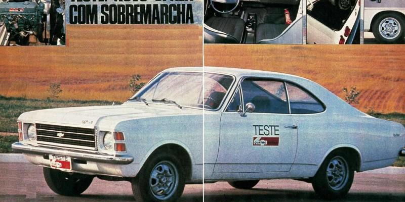 "Cambio ""OVER-DRIVE"" para linha Opala 1977"