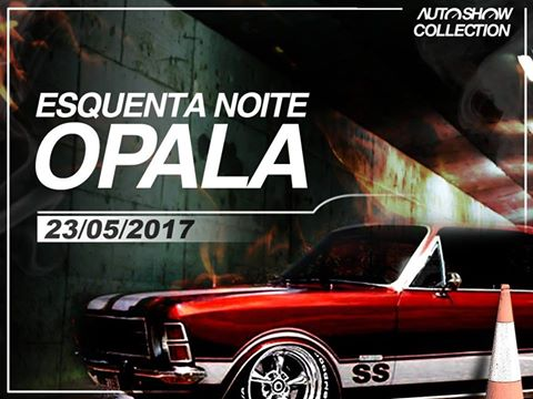 Esquenta para a Noite do Opala 2017 no Anhembi