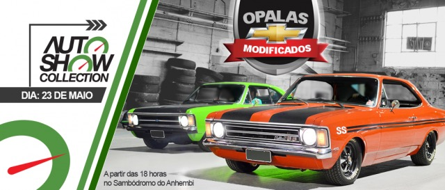 Noite do Opala Modificado no Auto Show Collection