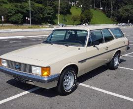 Caravan Comdoro 1982 - 4c - Placa Preta