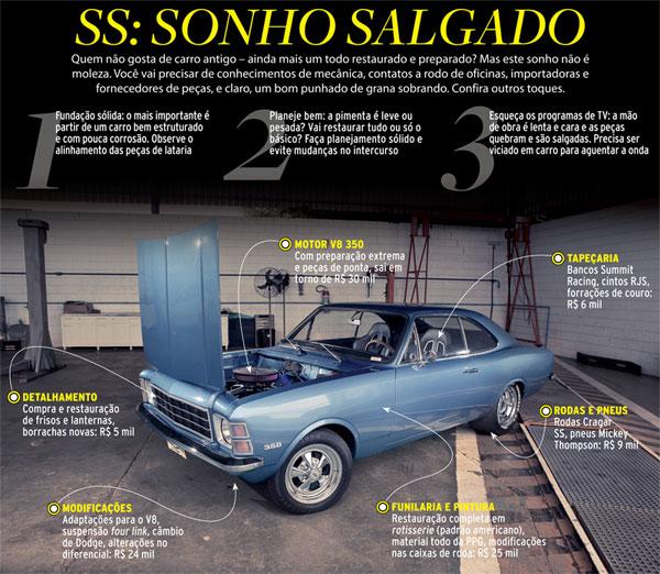 Opala V8 Supercharger: Os Polêmicos Opalas Com Motor V8
