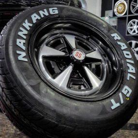 Pneu Nankang Radial GT Letra Branca para Opala e Caravan