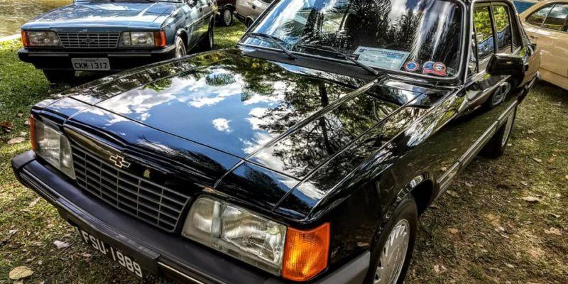 Linha Opala presente no Encontro Brasileiro de Autos Antigos Águas de Lindóia 2018