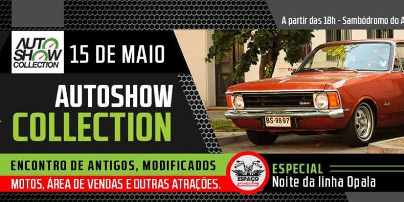 15/05 - Noite da Linha Opala no Auto Show Collection