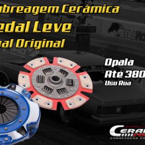 Você sabia que existe embreagem de cerâmica de Opala com pedal leve igual original?