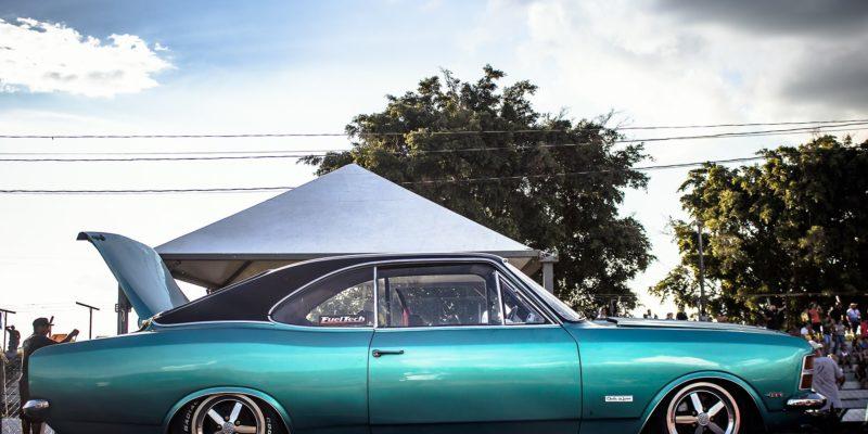Alguns dos Opalas presentes no Encontro Dodge & Cia 2019