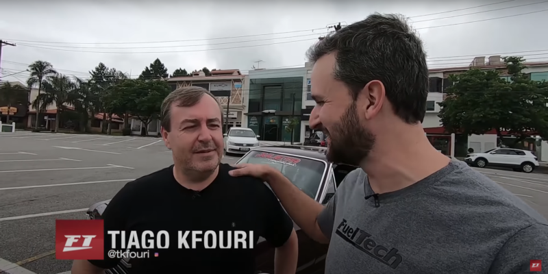 Fueltech - O Opala de rua de Celso Camargo