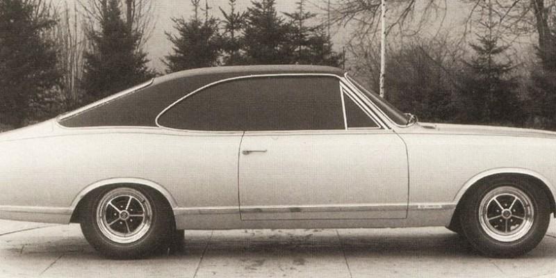 Opala - Rekord - Protótipo feito à mão.
