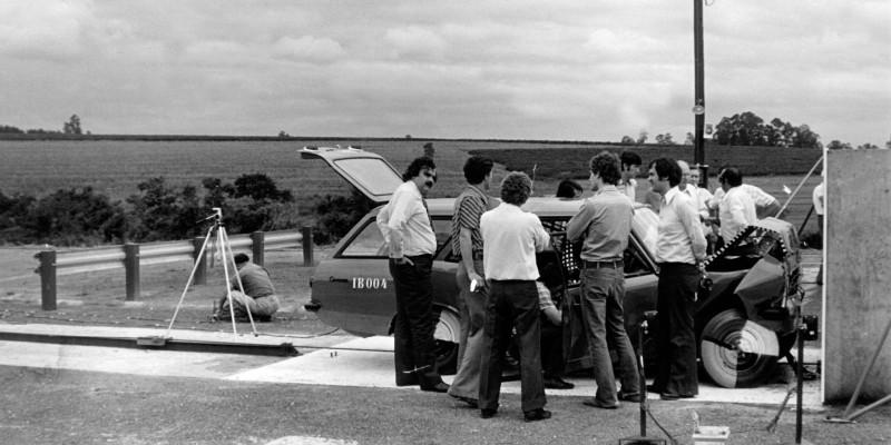 O primeiro crash test de Opala e Caravan