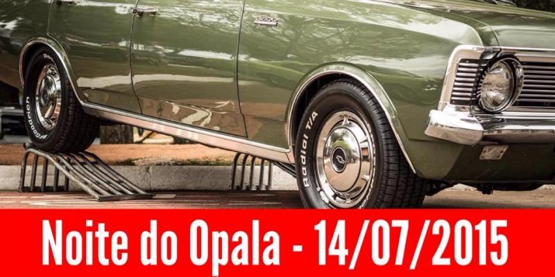 Data da Noite do Opala 2015 confirmada.