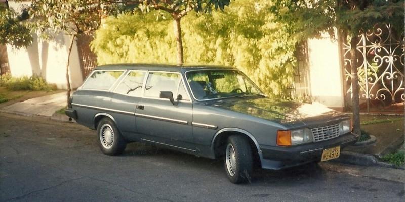 Caravan Comodoro SL/E 1988 e Opala Comodoro 1990, paixão a primeira vista.