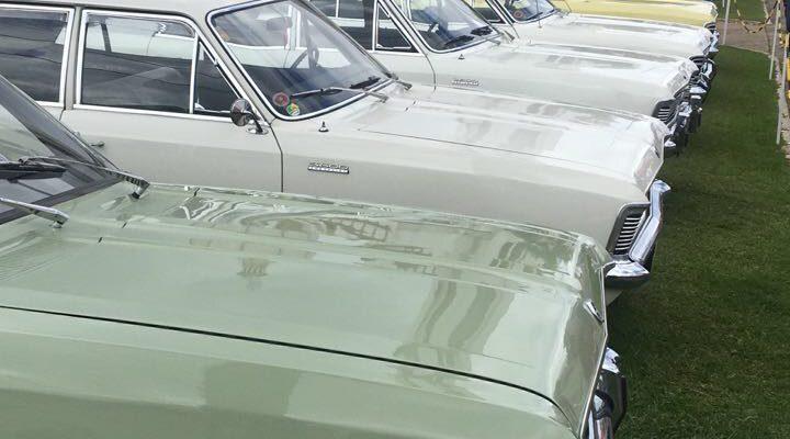 Confira a linha do tempo do Chevrolet Opala e fotos do 8° Opalapa.
