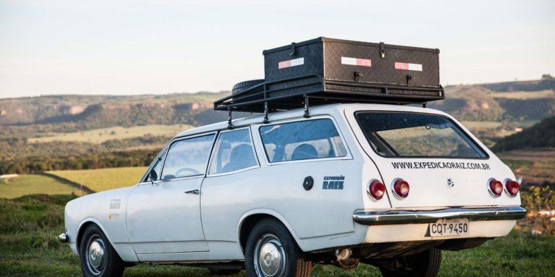 24000 quilômetros em uma Caravan 1976