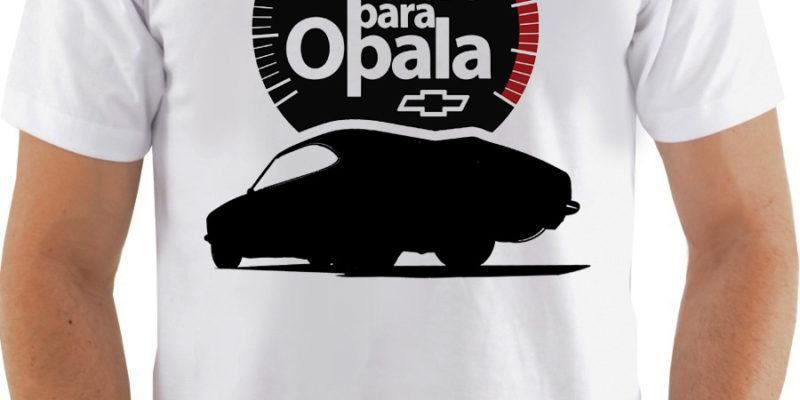Coleção de Camisetas Tudo Para Opala!