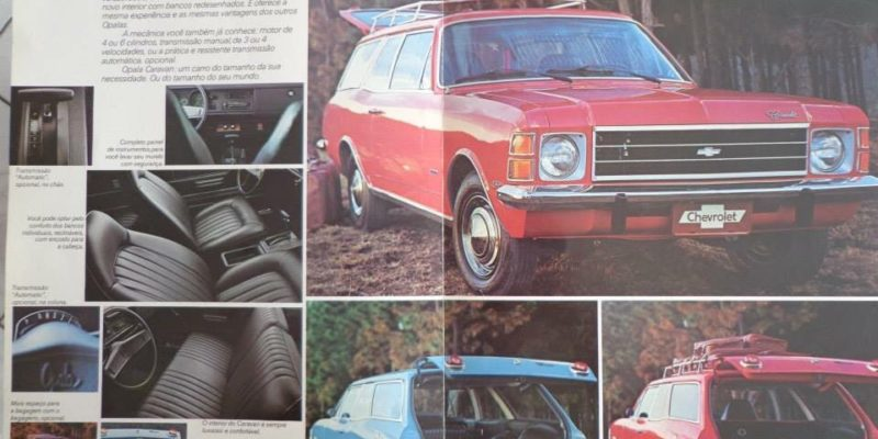 1975 Chevrolet Caravan, o primeiro Station Wagon brasileiro
