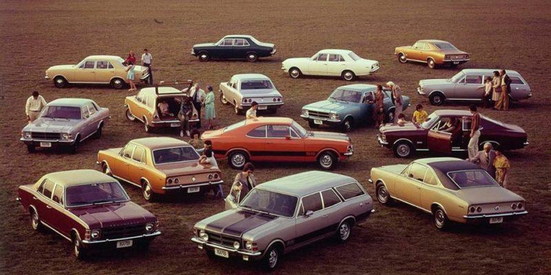 Linha Chevrolet Opala 1978