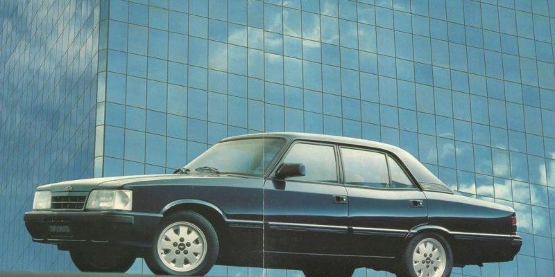 Linha Opala Diplomata 1991 / 1992