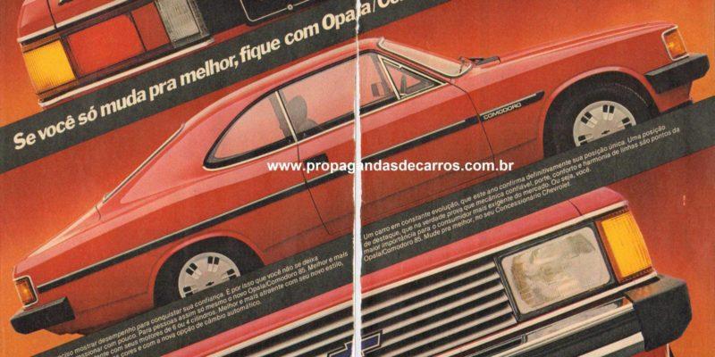 Linha Opala de 1985
