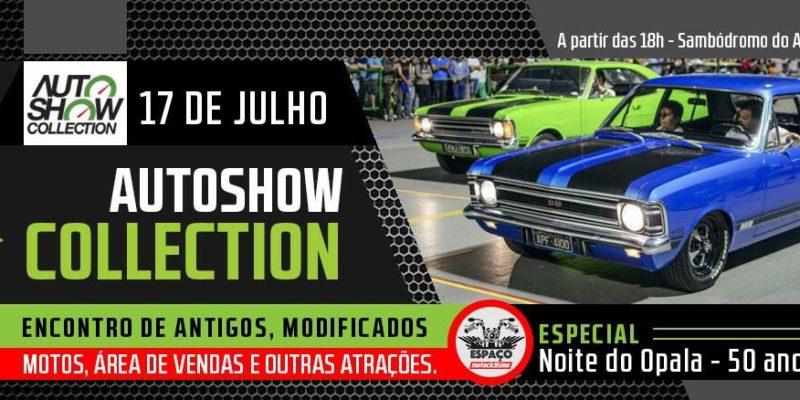 17 de julho - Noite do Opala (Especial 50 anos Chevrolet Opala) no Sambódromo do Anhembi