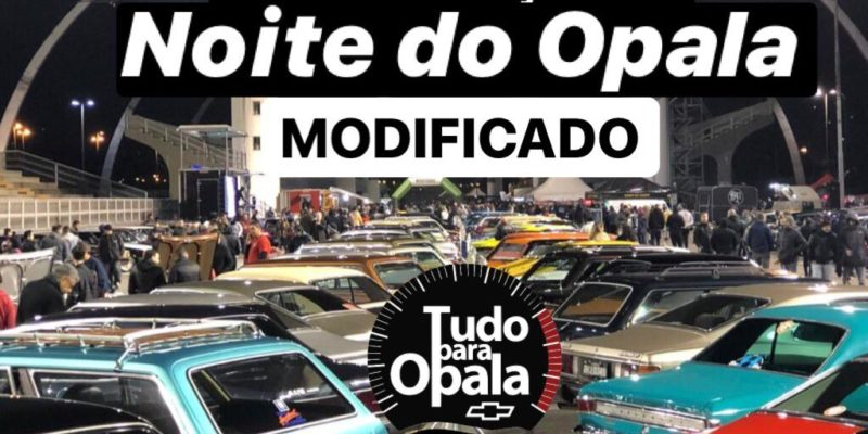 12/11 - Nova data da Noite do Opala Modificado no Sambódromo do Anhembi